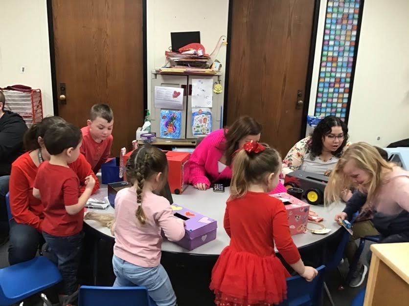 Mrs. Connie's Class Valentine's Party Picture  Sneak Peek