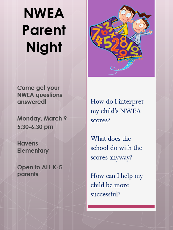 NWEA Parent Night