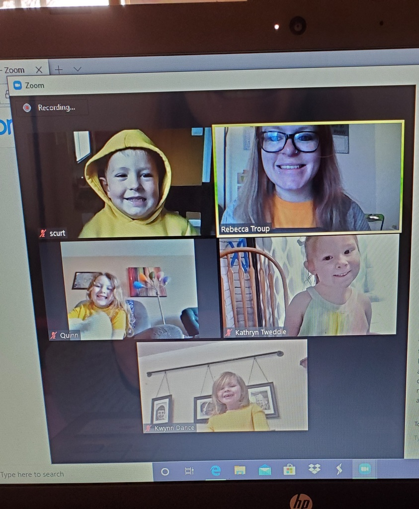 Ms. Rebecca's 4 Year Old Online Session!!