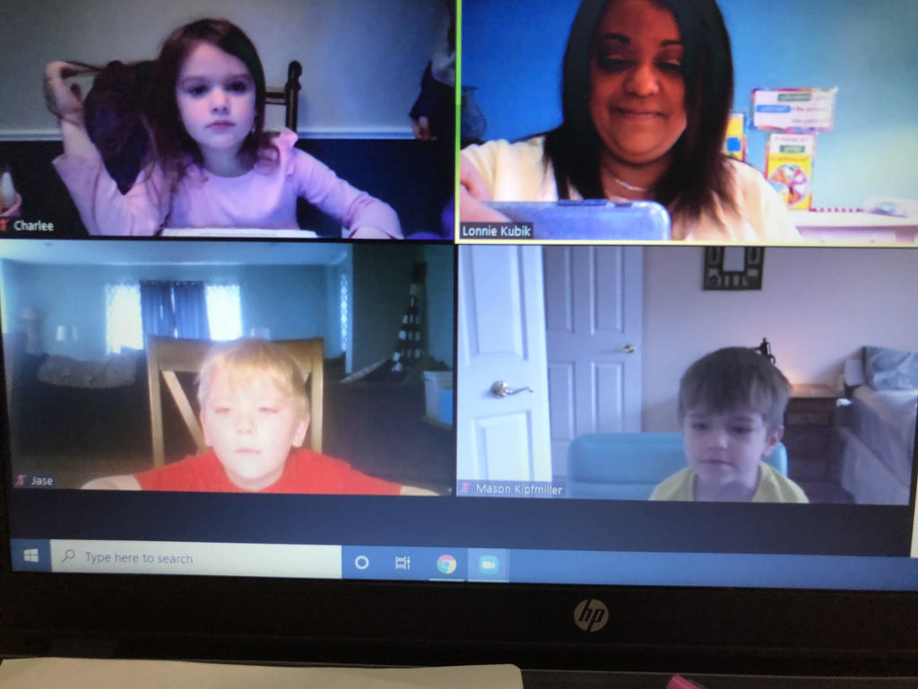 Mrs. Lonnie's 4 Year Old Online Session!!