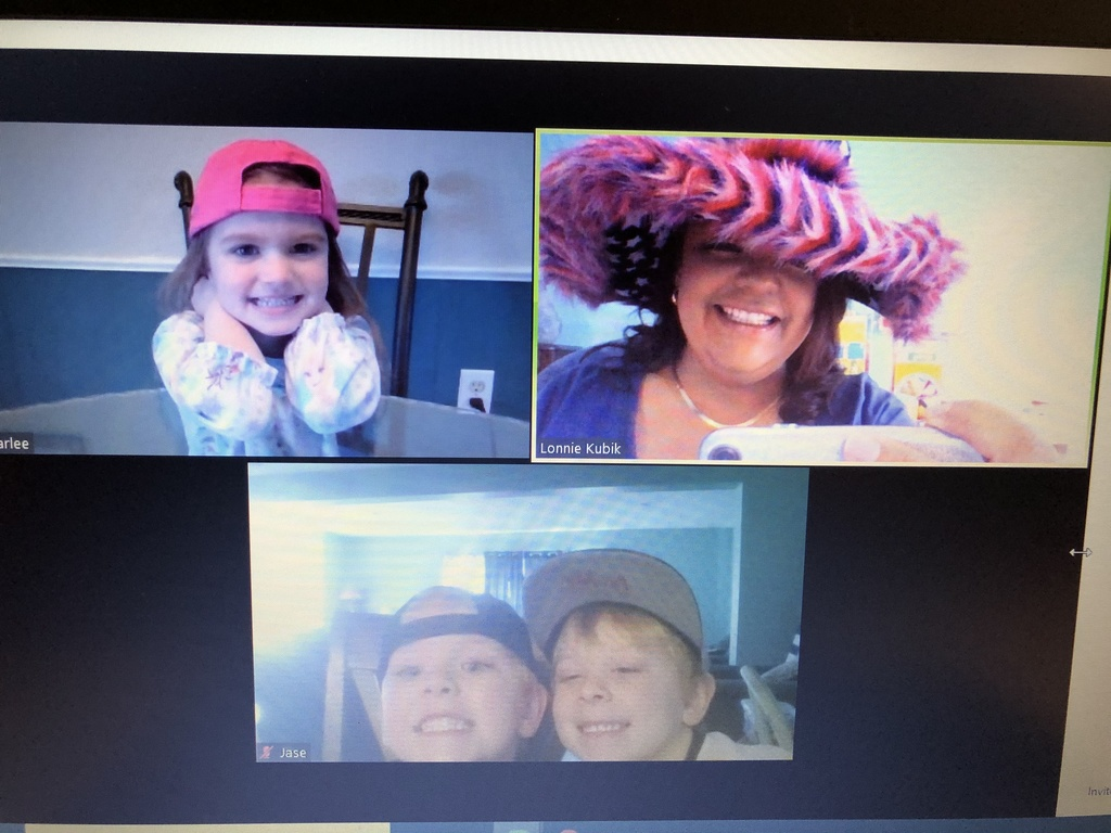 Mrs. Lonnie's 4 year old's crazy hat day!!