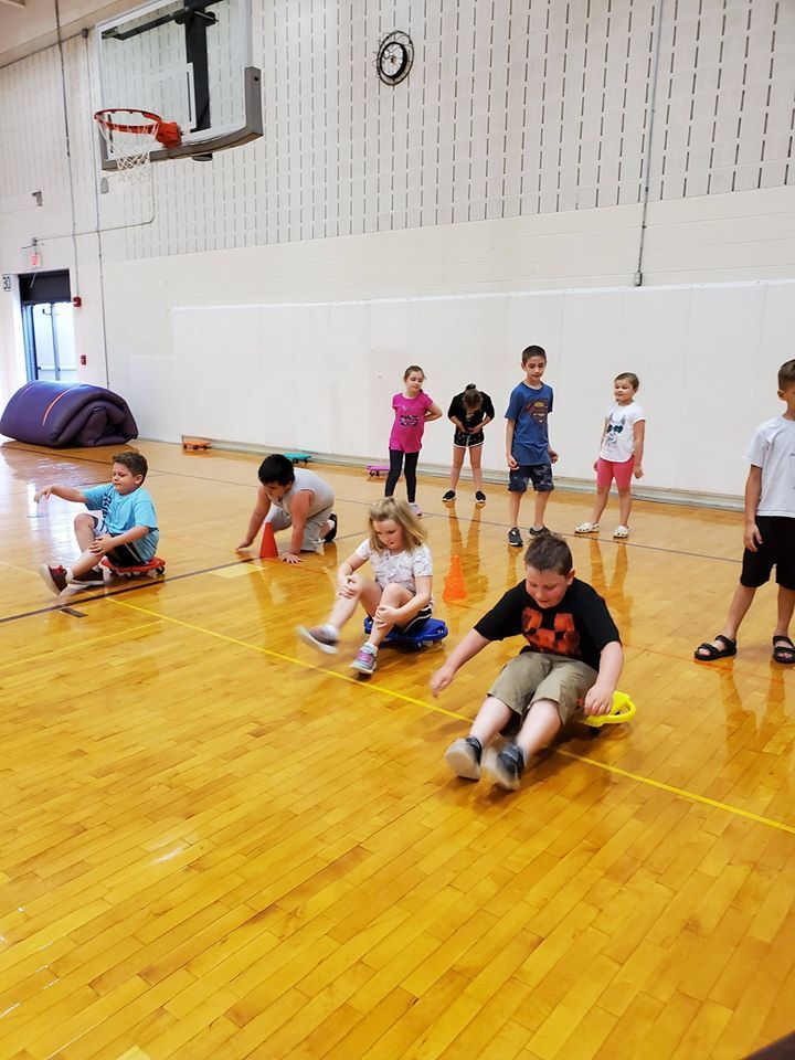 Physical Education with the 2nd & 3rd Graders!!